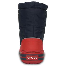 Crocs Crocband LodgePoint - Bottes Enfant - rouge/bleu